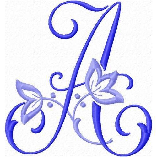 Красивая буква я рисовать