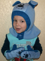 Сшить шапка шлем для мальчика 89