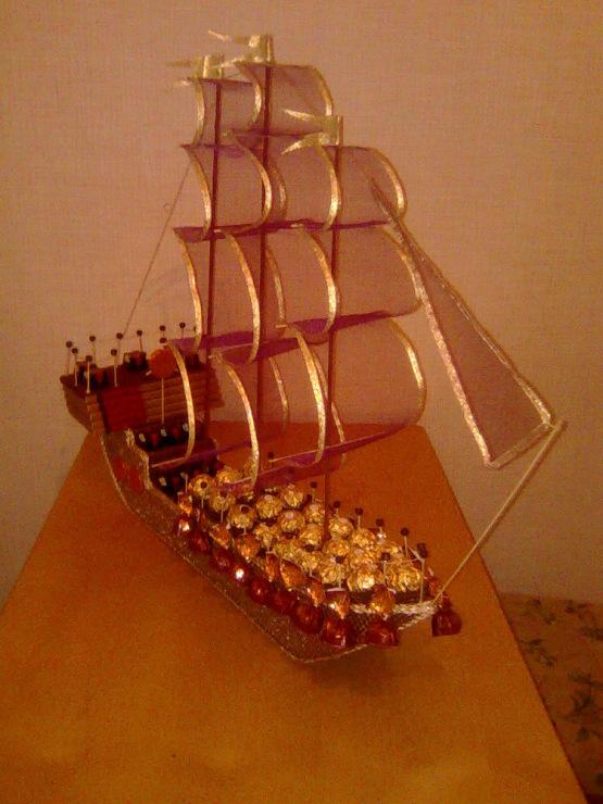 Корабль из бутылки своими руками 86