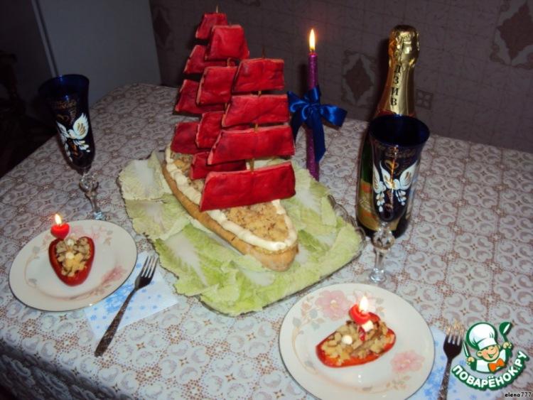Приготовить ужин мужу на день рождения