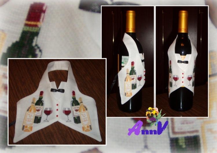 Вышивка на бутылки - Наборы для вышивания