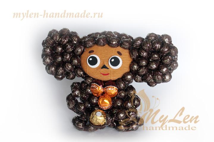 Поделки для детей из конфет