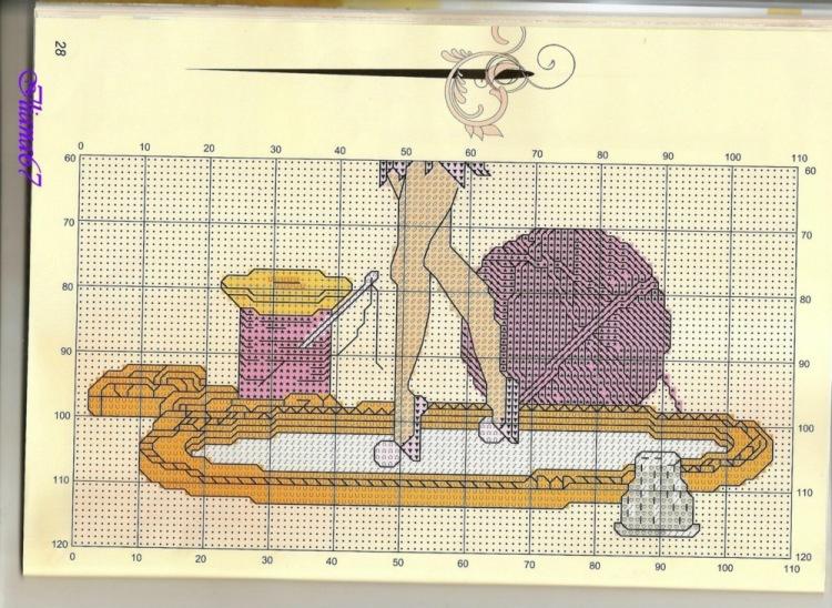 Рукоделие схемы вышивки крестом фото