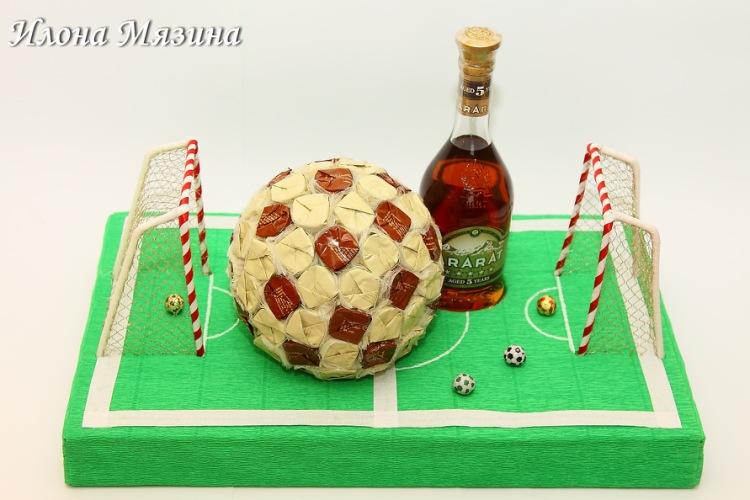 Футбольные подарки своими руками