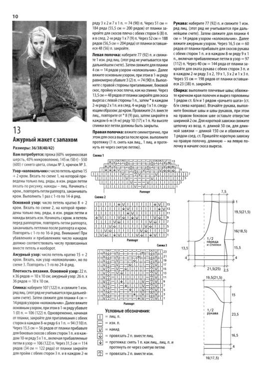 Креативное вязание спицами схемы и фото
