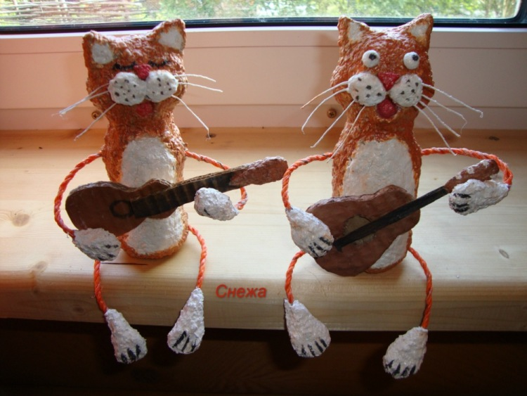 Котики и кошки своими руками 64