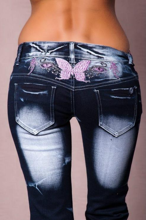 Можно ли расшить джинсы