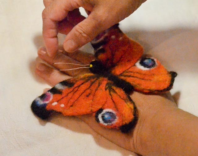 Игрушка Новогодние Способы Волховская Ткань Листья орхидея
