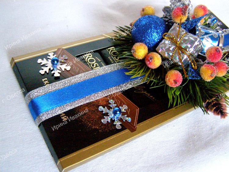 Gallery.ru / Фото #64 - Новогодние букеты из конфет - ari09