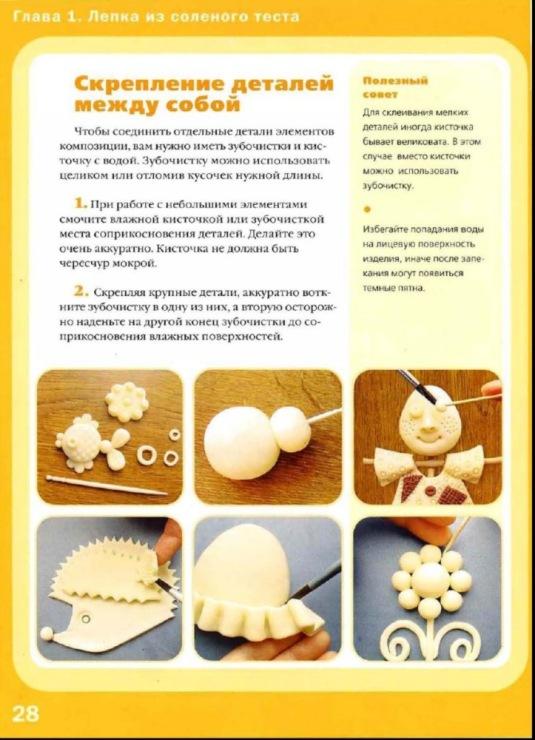 Как сделать тесто для лепки детям рецепт