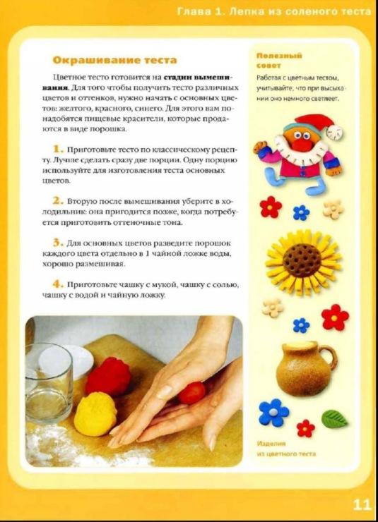 На тесто как сделать соленое тесто для лепки