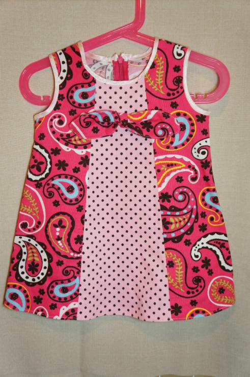 Шьём платье для дочки