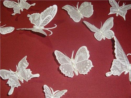 Бабочка своими руками из бумаги мастер класс