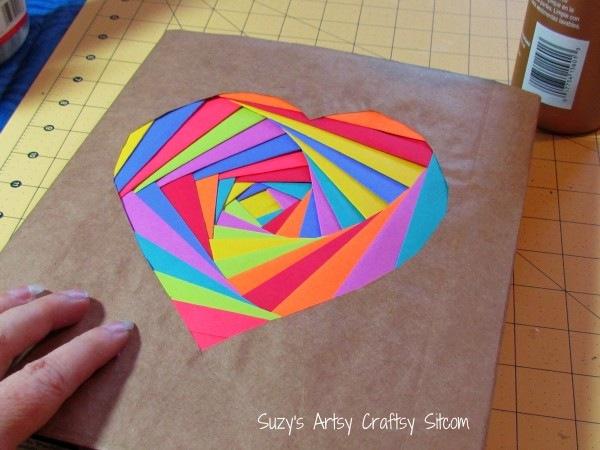 Обложка для тетради из бумаги своими руками