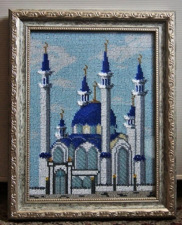 Схемы вышивки мечети мекке