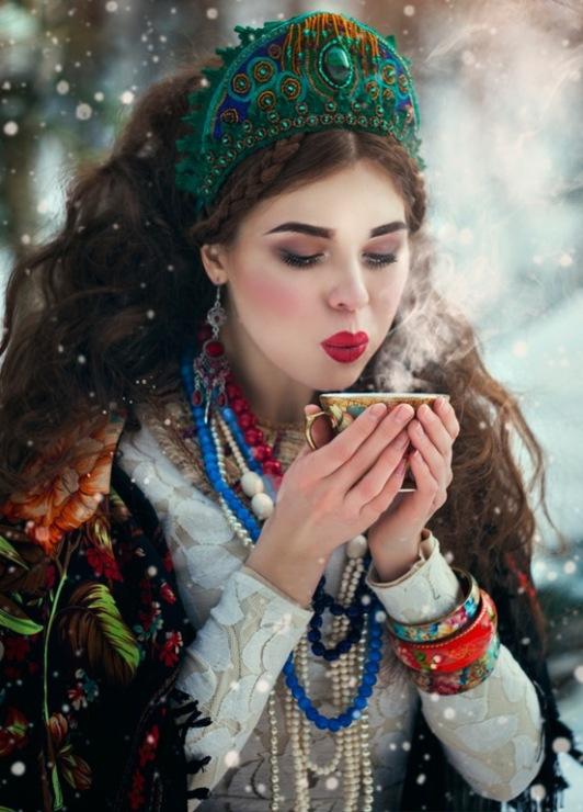 фотографии русских красавиц