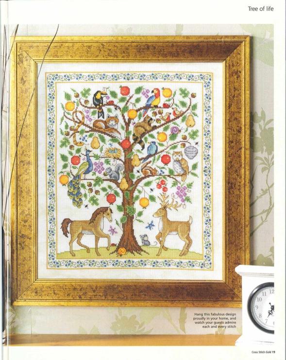 Вышивка дерево жизни схема 89