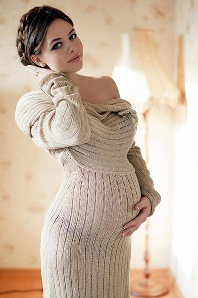 Самая красивая девушка беременная фото