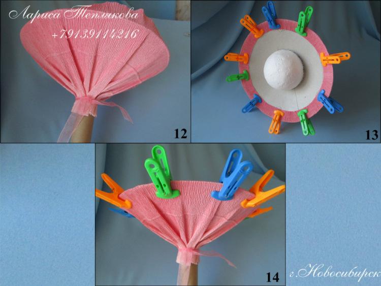 Как сделать манжету для цветка