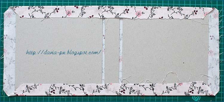 Как сделать скрап бумагу из ткани