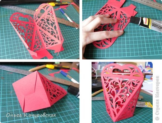 Как сделать упаковку с бумаги