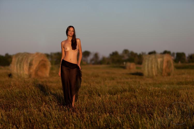 В поле голая фото 43431 фотография
